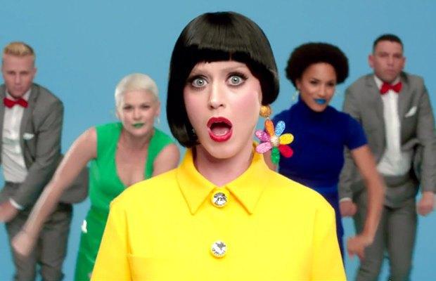 Все горячие луки лета в новом видео Кэти Перри . Изображение № 8.
