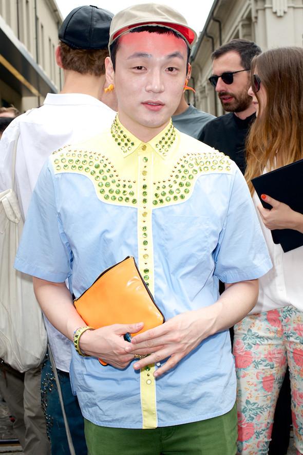 Стрит-стайл: Неделя мужской моды в Милане. Изображение № 28.