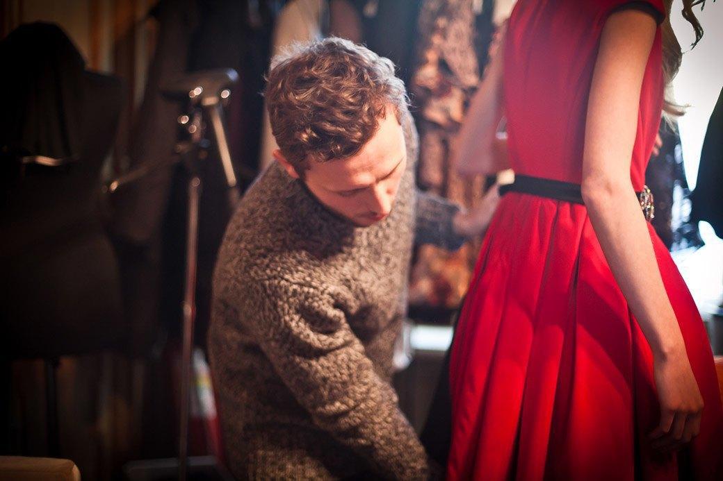 Репортаж: Бархатные платья  и светящиеся кубы на LUBLU Kira Plastinina FW 2013. Изображение № 17.