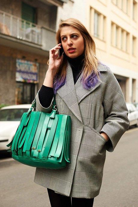 Стритстайл:  Неделя моды в Милане,  часть I. Изображение № 7.