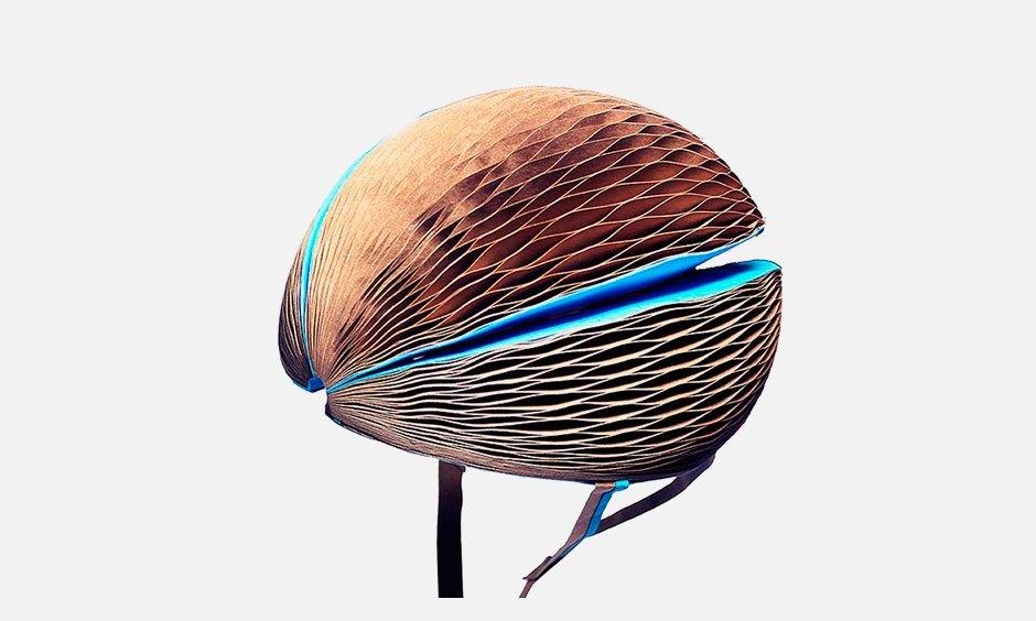 Cкладной экологичный шлем для велосипедистов EcoHelmet. Изображение № 1.