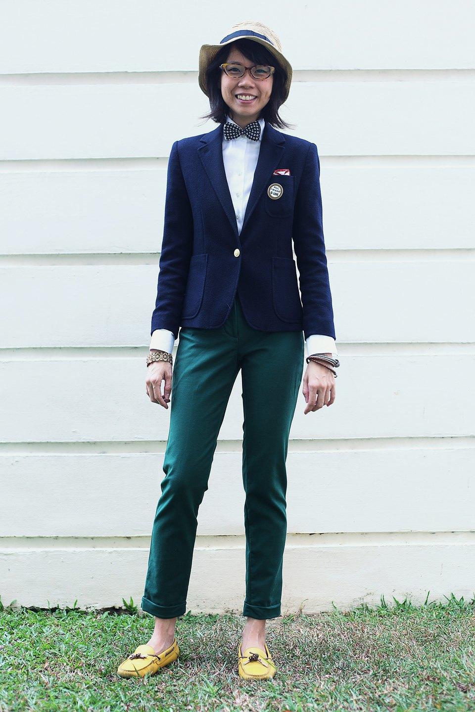 Гардероб: Джени Кай,  директор моды Esquire Singapore . Изображение № 18.