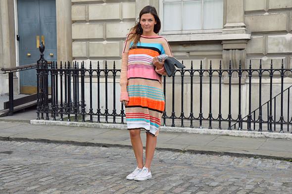 London Fashion Week: Уличный стиль, часть 3. Изображение № 4.