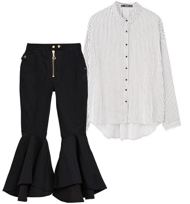 Комбо: Рубашка с фантазийными джинсами. Изображение № 2.