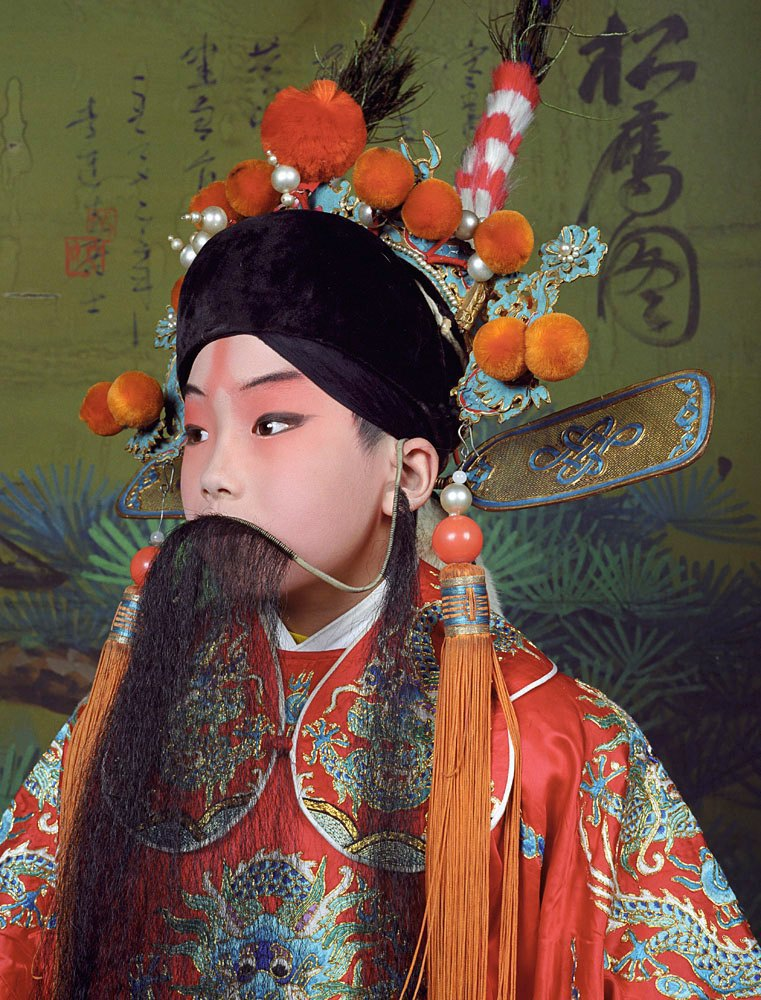 «Opera»: Студенты Пекинской оперы  в традиционных костюмах. Изображение № 2.