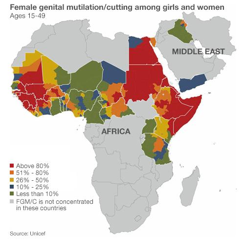 Число жертв женского обрезания может возрасти до 155 миллионов. Изображение № 1.