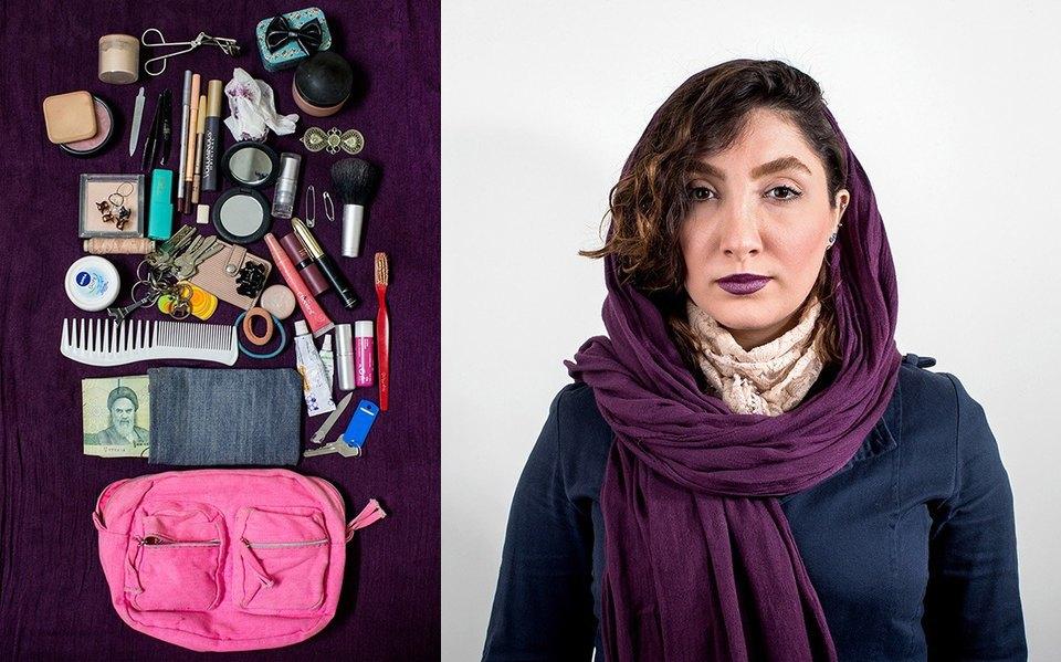 «Иранский макияж»:  Как и чем красятся  восточные женщины. Изображение № 14.