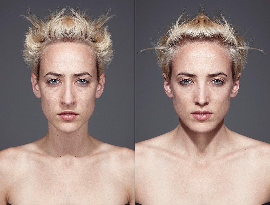 «Симметричные портреты»:  Два человека в одном. Изображение № 10.