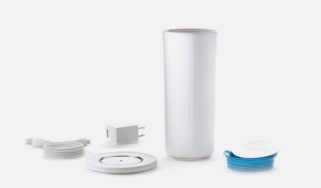 Умный стакан  Pryme Vessyl, следящий  за потреблением воды. Изображение № 1.