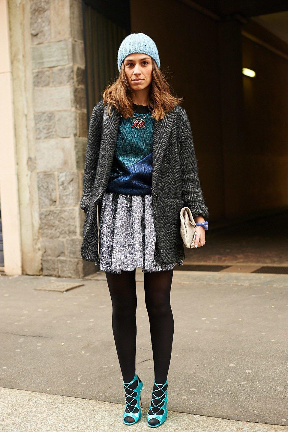 Стритстайл:  Неделя моды в Милане,  часть I. Изображение № 17.