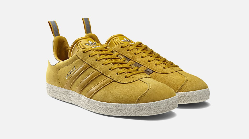 Обновлённые кроссовки adidas Gazelle  родом из 90-х. Изображение № 1.