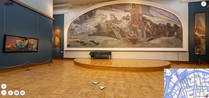 На «Яндекс.Картах» появились панорамы всех залов Третьяковки. Изображение № 5.