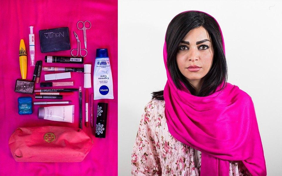 «Иранский макияж»:  Как и чем красятся  восточные женщины. Изображение № 13.