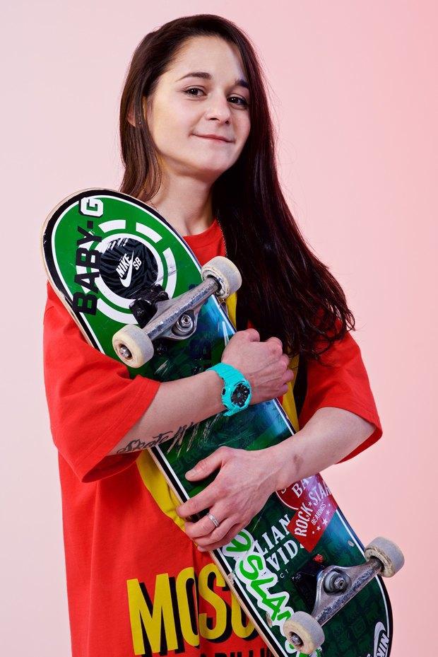 Скейтбордистка Катя Шенгелия об отсутствии конкуренток и трюках. Изображение № 1.