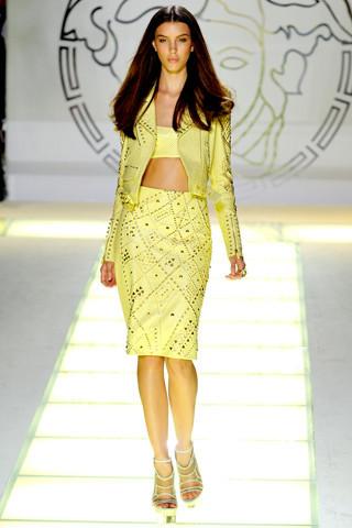 Milan Fashion Week: показ Versace SS 2012. Изображение № 28.