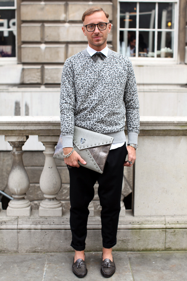 Streetstyle: Неделя моды в Лондоне, часть 1. Изображение № 6.