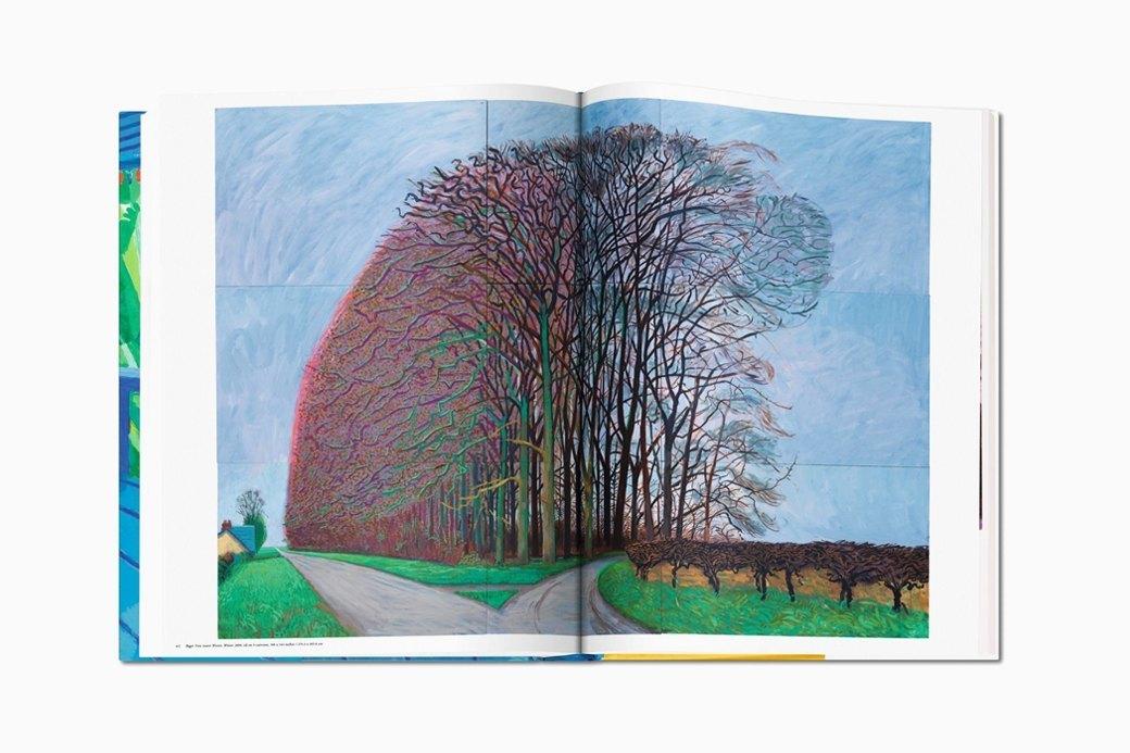 Гигантский альбом Taschen с работами Дэвида Хокни. Изображение № 8.