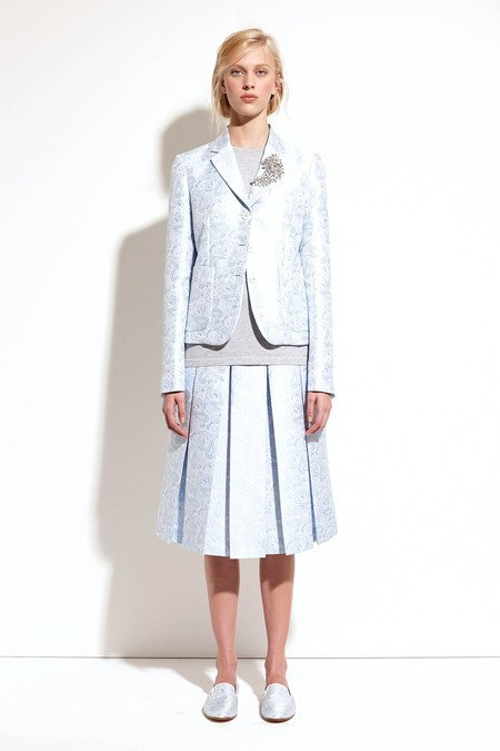 Пальто и костюмы в лукбуке новой коллекции Michael Kors. Изображение № 30.