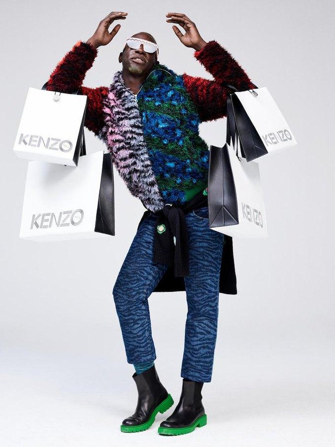 Вышел лукбук коллаборации Kenzo x H&M. Изображение № 21.