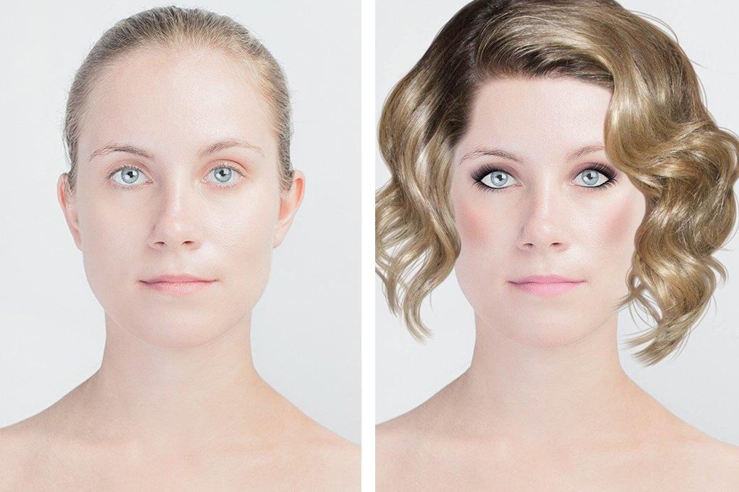 До и после макияжа:  Редакция тестирует  бьюти-приложения. Изображение № 19.