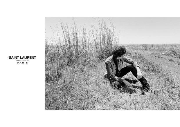 Тобайас Джессо-младший стал лицом Saint Laurent. Изображение № 4.