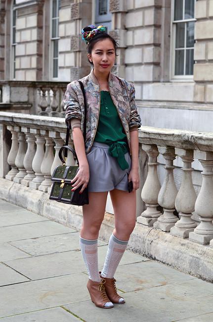 London Fashion Week: Уличный стиль, часть 1. Изображение № 15.