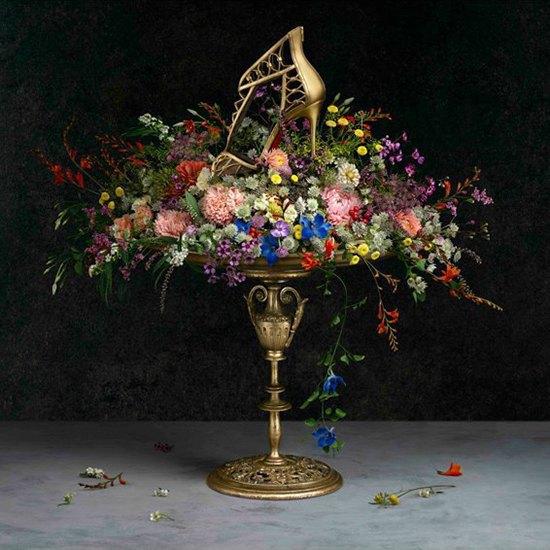 Туфли Christian Louboutin на полотнах Ван Гога, Моне и Сезанна. Изображение № 1.