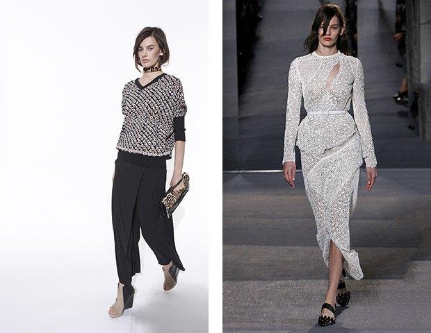 Аманда Мёрфи,  модель, открывшая  и закрывшая Prada. Изображение № 12.
