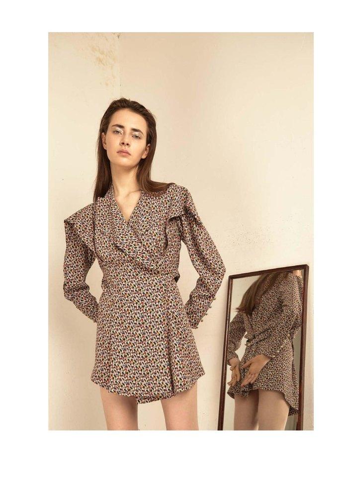 Новая коллекция Sergey Soroka вдохновлена мужским гардеробом. Изображение № 20.