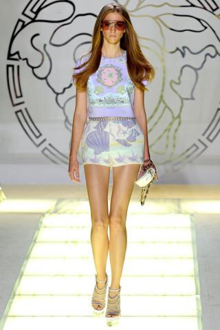 Milan Fashion Week: показ Versace SS 2012. Изображение № 7.