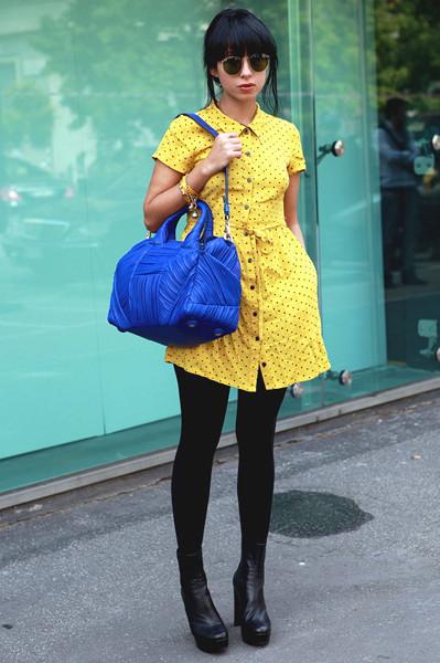 Milan Fashion Week: Уличный стиль, день 3. Изображение № 1.
