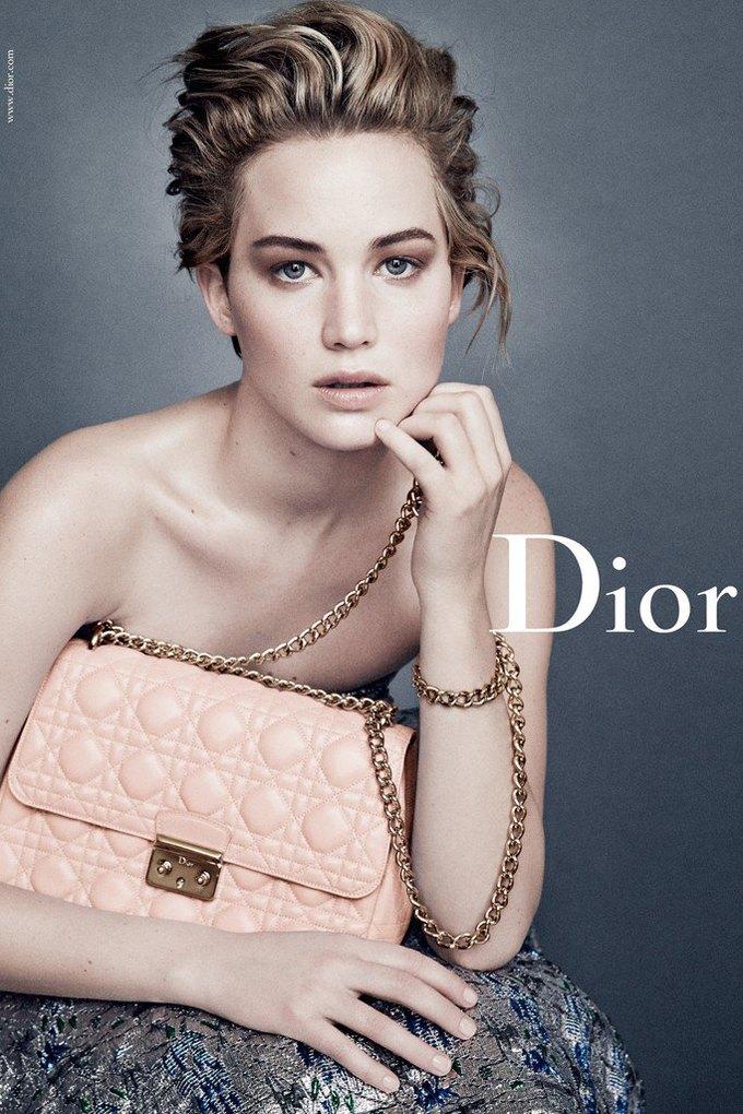 Дженнифер Лоуренс снова в кампании Dior. Изображение № 3.