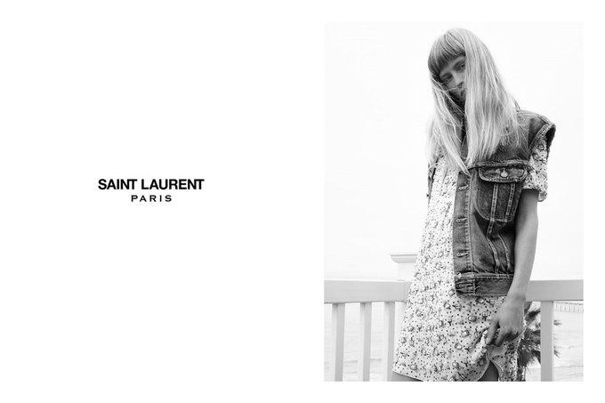 Звезда «Любви» Гаспара Ноэ и сын Килмера снялись в рекламе Saint Laurent. Изображение № 21.