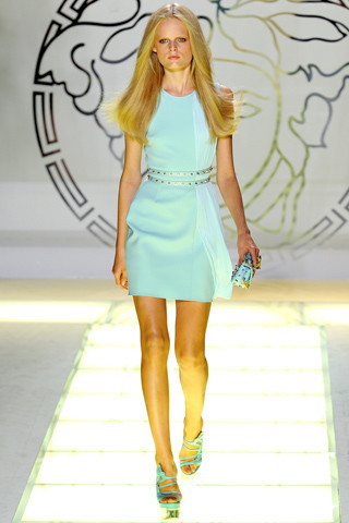 Milan Fashion Week: показ Versace SS 2012. Изображение № 24.