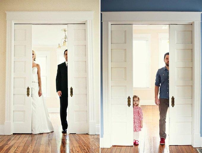 Отец и дочь воссоздали фото с умершей мамой. Изображение № 12.