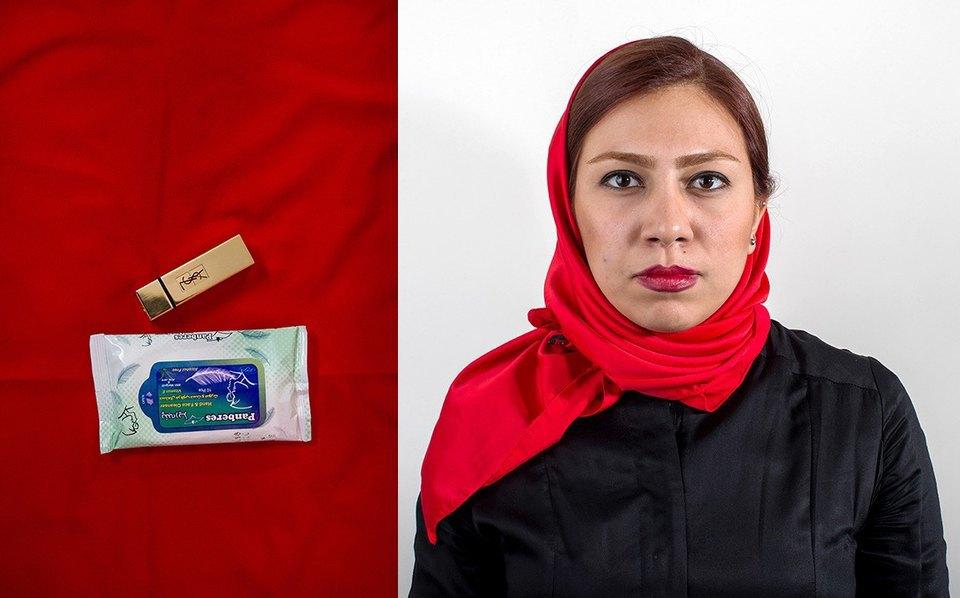 «Иранский макияж»:  Как и чем красятся  восточные женщины. Изображение № 6.