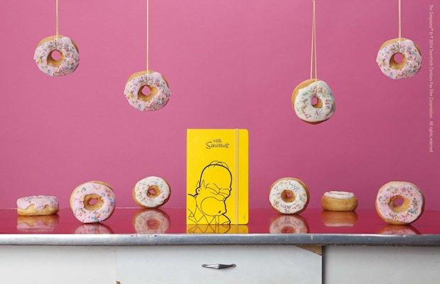 Moleskine выпустила специальную серию к юбилею «Симпсонов». Изображение № 4.
