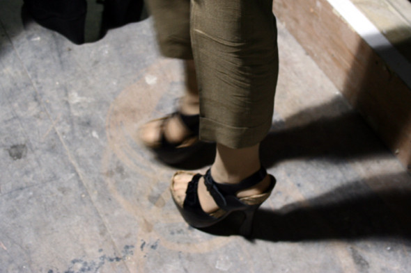 London Fashion Week: бэкстейдж показа Acne. Изображение № 18.