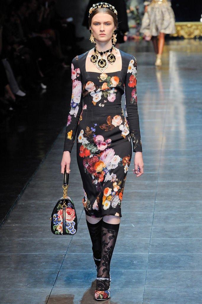 Dolce & Gabbana FW 2012. Изображение № 41.