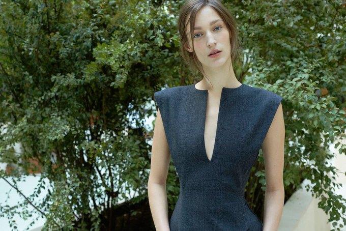 Объемные пальто и клетка в осеннем лукбуке Zara. Изображение № 16.