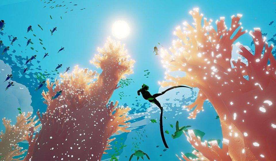 Видеоигра ABZÛ: Медитативное путешествие в глубины океана. Изображение № 1.