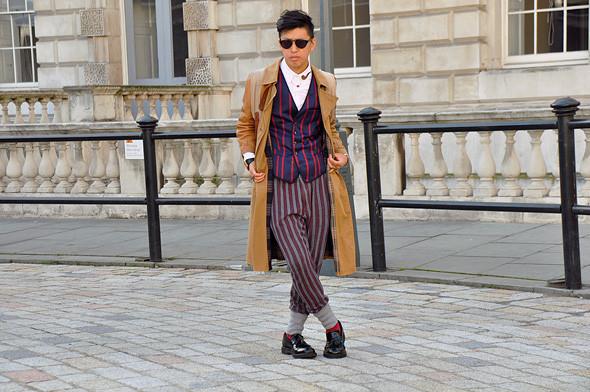 London Fashion Week: Уличный стиль, часть 3. Изображение № 12.