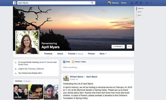 Facebook разрешит пользователям оставлять аккаунты в наследство. Изображение № 1.