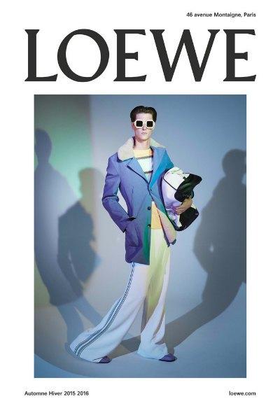 В рекламную кампанию Loewe вошли личные снимки Стивена Мейзела. Изображение № 1.