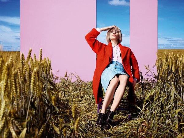 Наоми Янг сняла новую рекламную кампанию «Цветного» . Изображение № 2.