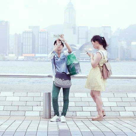 «Self Promenade»: Любители селфи в Гонконге. Изображение № 7.