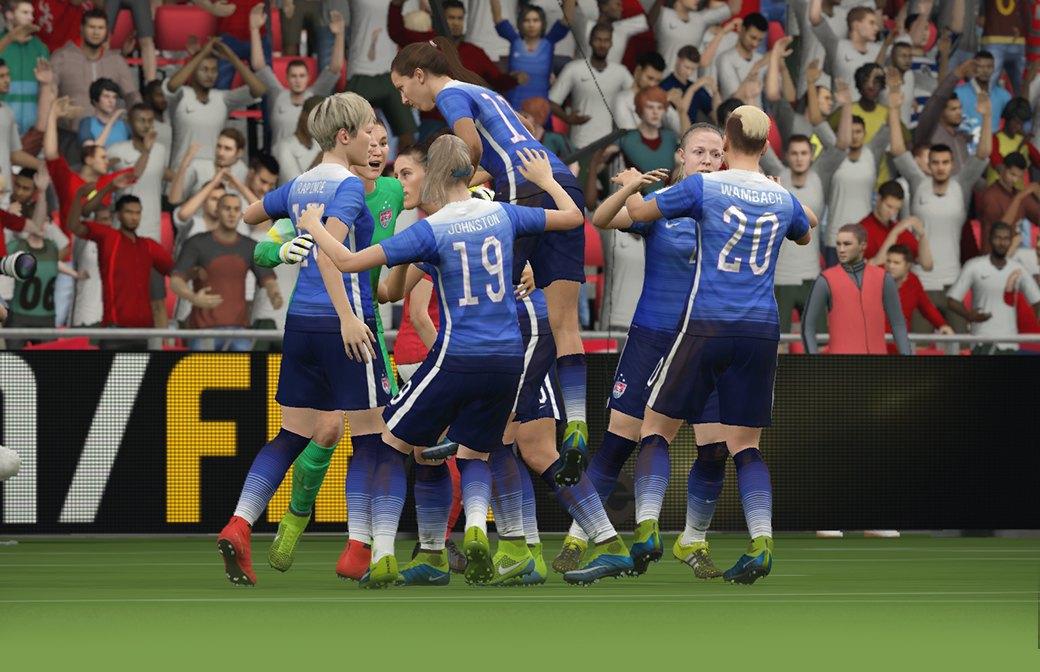 Футболистки клуба «GirlPower» играют в FIFA 16. Изображение № 2.