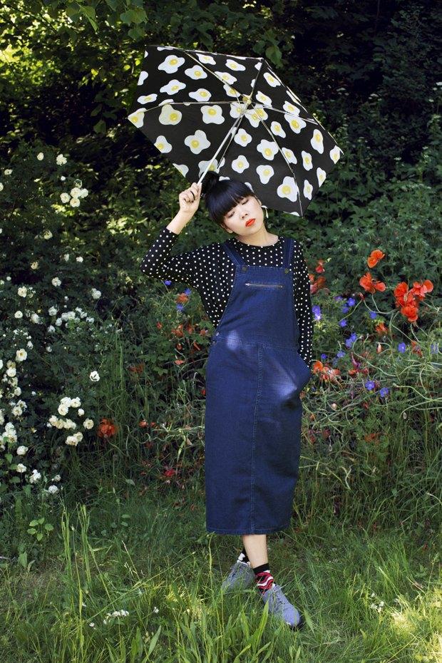 Блогер Сьюзи Баббл стала лицом линейки денима Monki. Изображение № 4.