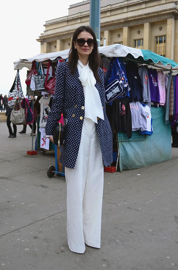 Неделя моды в Париже: Streetstyle. Изображение № 39.