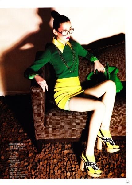 Новые лица: Лина Чжан, модель. Изображение № 49.